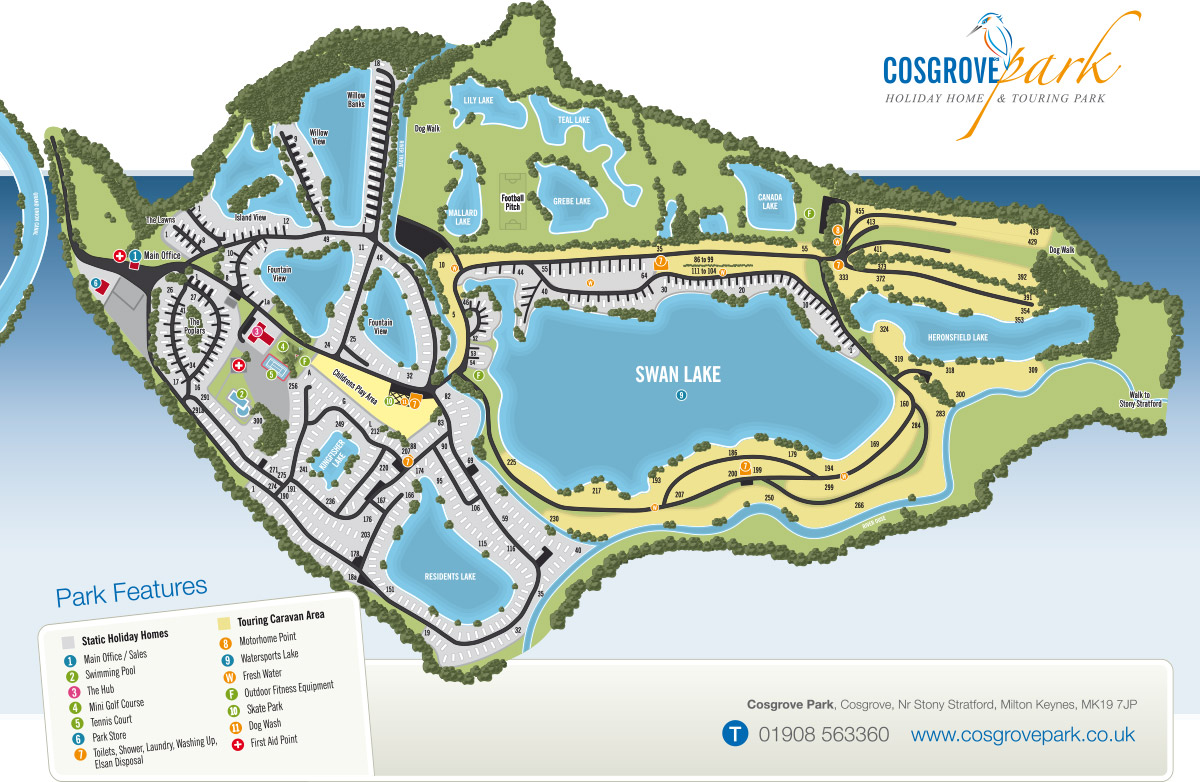 Printable Map of Cosgrove