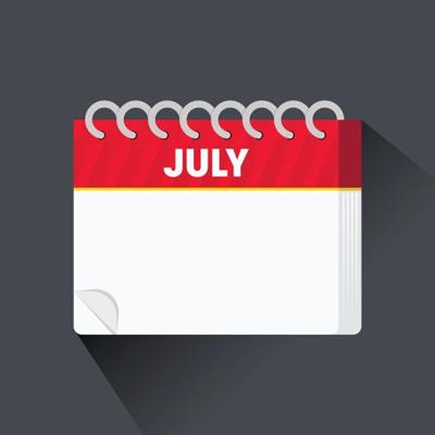 <h1>Activities & Events - July 2019</h1>