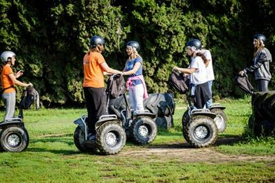 <h1>Segway Experience - Customers ONLY</h1>
